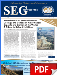 SEG Newsletter, No. 93 (PDF)