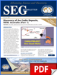 SEG Newsletter, No. 88 (PDF)