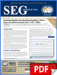 SEG Newsletter, No. 96 (PDF)