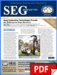 SEG Newsletter, No. 97 (PDF)